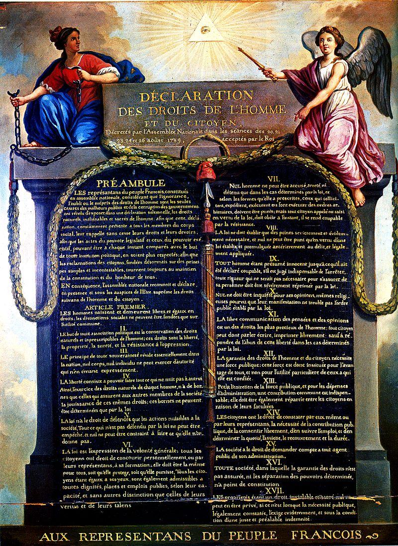 Déclaration des droits de l'homme et du citoyend'août 1789, article 15, évaluation, www.eval.fr