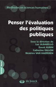 Penser l'évaluation des politiques publiques