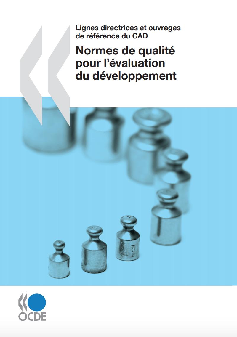 Normes de qualité pour l'évaluation du développement