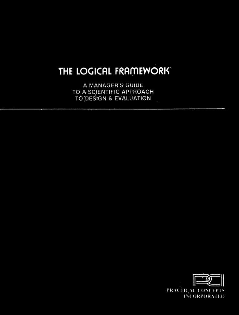 manuel du cadre logique practical concepts