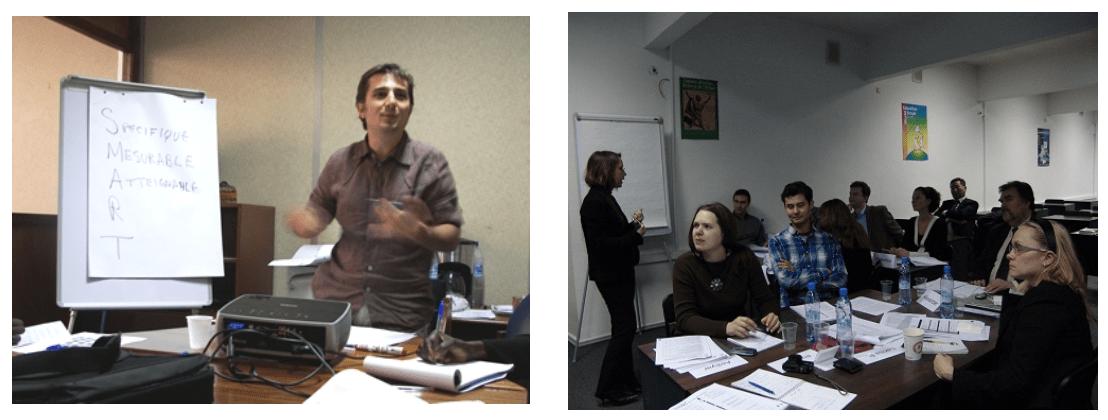renforcement des capacités en suivi et évaluation