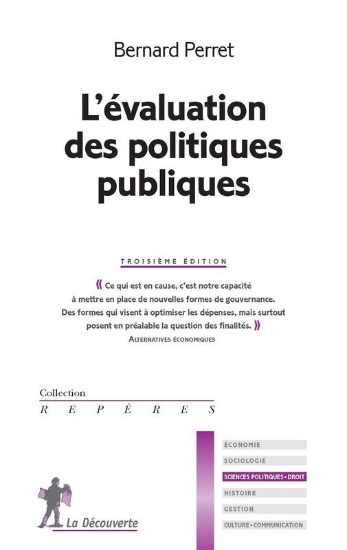 L'évaluation des politiques publiques–Bernard Perret