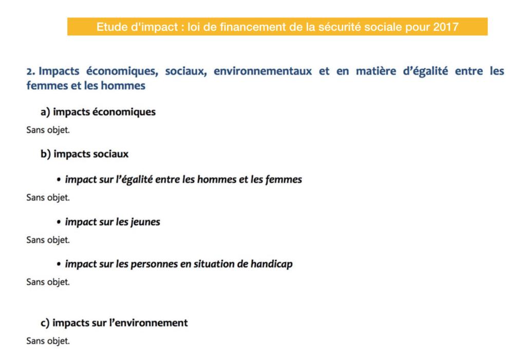 évaluation impact sécurité sociale www.eval.fr